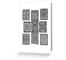 Celtic Tarot Spread Greeting Card