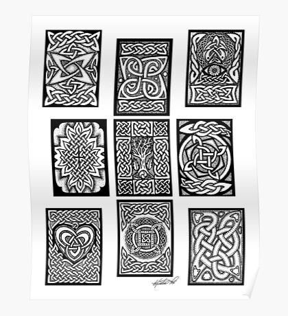 Celtic Tarot Spread Poster