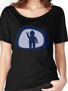 View from a Car Wing Mirror  Women's Relaxed Fit T-Shirt