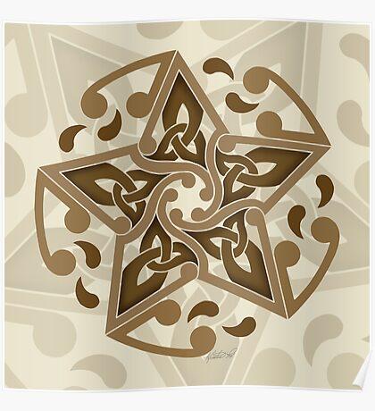 Celtic Star Poster