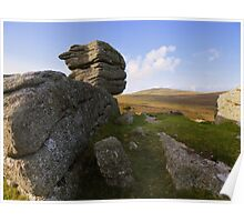 Dartmoor: The View from Heckwood Tor Poster