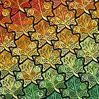 Celtic Leaf Transformation by foxvox