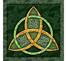 Celtic Trinity Knot Photographic Print