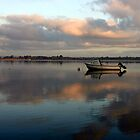 Boat @ Malahide Marina by Martina Fagan