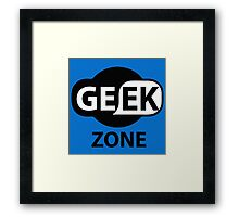 GEEK ZONE - Computer Framed Print