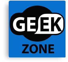GEEK ZONE - Computer Canvas Print