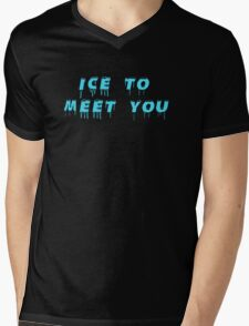 Ice to meeet you! Mens V-Neck T-Shirt