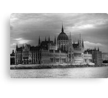 The Parliament Canvas Print
