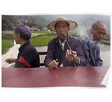 Chine - Xijiang - World's people Poster