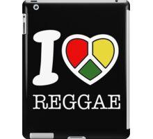 I love reggae. Black version! iPad Case/Skin