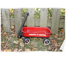 Little Radio Flyer #2 Poster