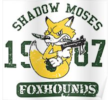 Shadow Moses Fox Hounds Poster