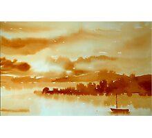 Sunset, West Cork Photographic Print