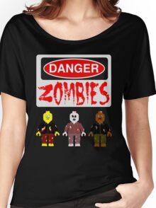 DANGER ZOMBIES Women's Relaxed Fit T-Shirt