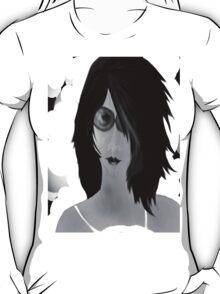 Sun Burn Black And White T-Shirt