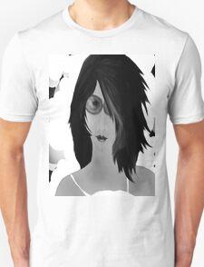 Sun Burn Black And White Unisex T-Shirt
