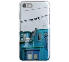 little blue houses iPhone Case/Skin