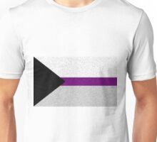 Demisexual Flag- Painted on a Wall Unisex T-Shirt