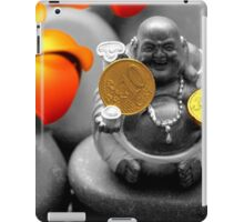 Buddha with coins iPad Case/Skin