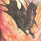 Black Dragon by morgansartworld