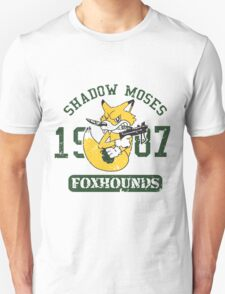 Shadow Moses Fox Hounds Unisex T-Shirt
