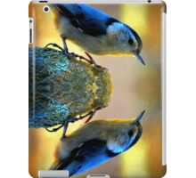 Reflecting Pool Nuthatch  iPad Case/Skin