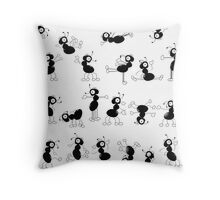 Oh YES, we can dance too, didnt u notice? Throw Pillow