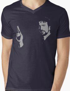 Gruber Mens V-Neck T-Shirt