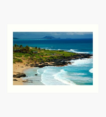 Makapuu, Hawaii Art Print