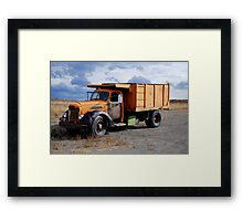 Potatoe Truck Framed Print