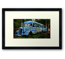 Woo Hoo the Magic Bus Framed Print
