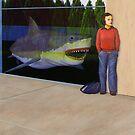 White Shark V (Window) by Jason Moad
