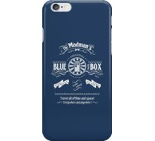 The Madmans's Blue Box iPhone Case/Skin