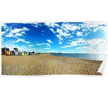 Beach Houses - Brighton Beach Poster