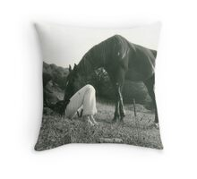 In Tune Throw Pillow