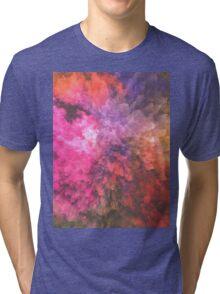Colorful texture Tri-blend T-Shirt