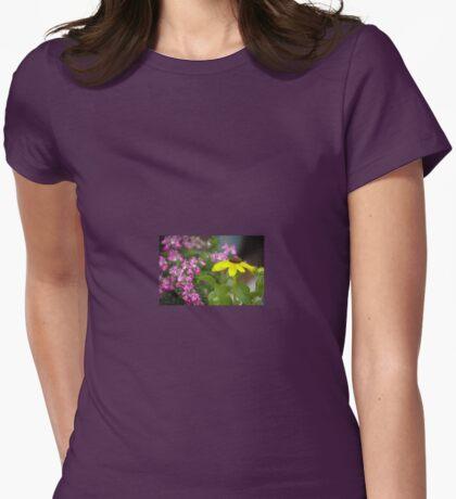 Garden Sweetness Womens Fitted T-Shirt
