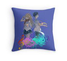 Shigatsu wa kimi no uso Throw Pillow