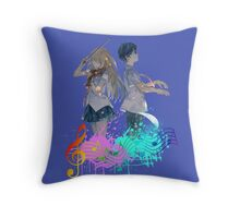 Shigatsu wa kimi no uso Throw Pillow
