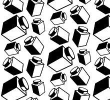 1 x 1 Bricks (AKA Falling Bricks), Customize My Minifig by Customize My Minifig