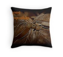 Deepest Sympathies Throw Pillow