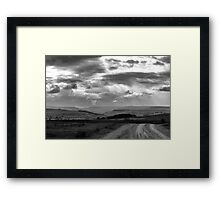 Looking across Sourmoor into Swaledale Framed Print