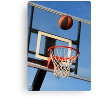 Going for a Basket! Canvas Print