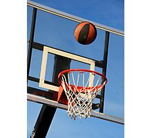Going for a Basket! Photographic Print