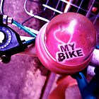 I heart my bike! by iwasoutwalking