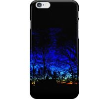 Silhouettes At Sunrise iPhone Case/Skin