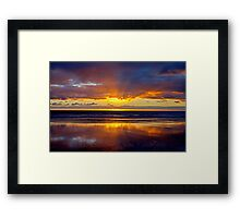 Some Motionless Conflict In The Sky Framed Print