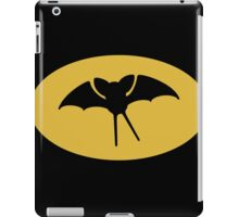 Zu-Bat signal iPad Case/Skin