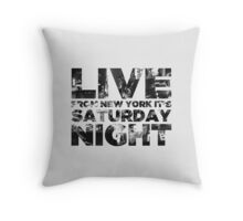 Live from NY Throw Pillow