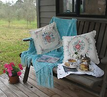 Tea on the Verandah by snefne